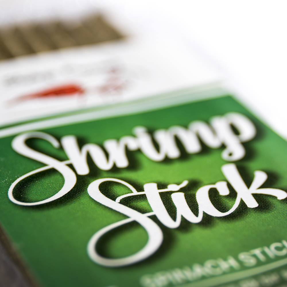 Shrimp Sticks Spinach